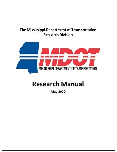 MDOT Research Manaual