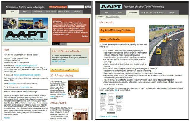 AAPT Website