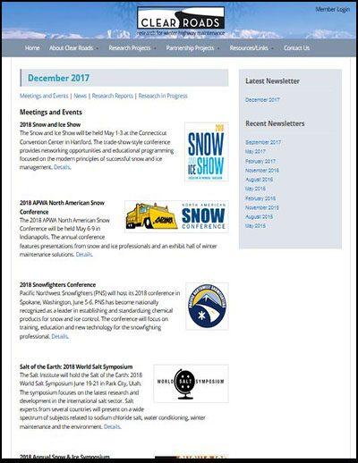 Clear Roads E-Newsletters