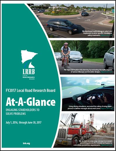 FY2017 Local Road Research Board At-A-Glance