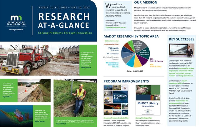 MnDOT At-a-Glance 2017