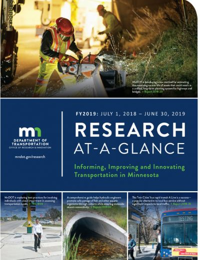 MnDOT Annual At-a-Glance