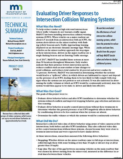 Collision Warning Systems