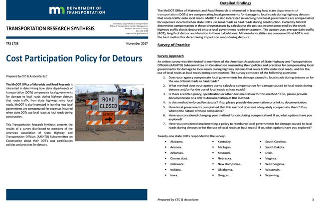 Cost Participation Policy