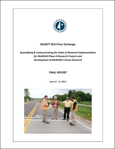 MnDOT 2014 peer exchange final report