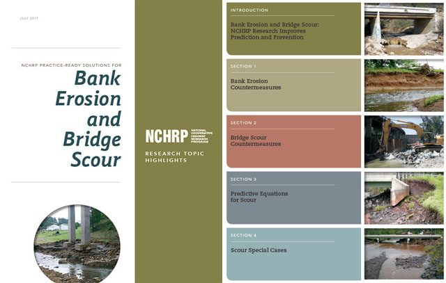 NCHRP Bank Erosion and Bridge Scour