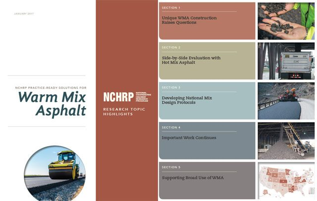 Practice-Ready Solutions for Warm Mix Asphalt