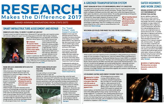 Research Makes the Difference 2017
