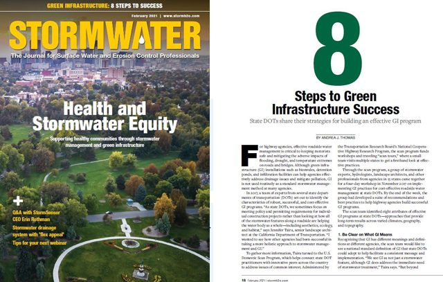Stormwater article